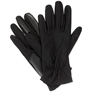 Isotoner Signature SmarTouch Tech Gloves in Black (Small / Medium)