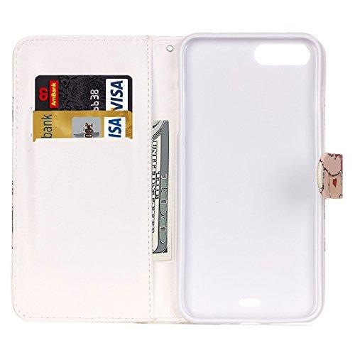 Protege tu iPhone, Para el iPhone 7 más pintura patrón de mariposa azul horizontal Flip caja de cuero con titular y ranuras para tarjetas y cartera, pequeña cantidad recomendada antes de lanzamiento d IP7P0020P
