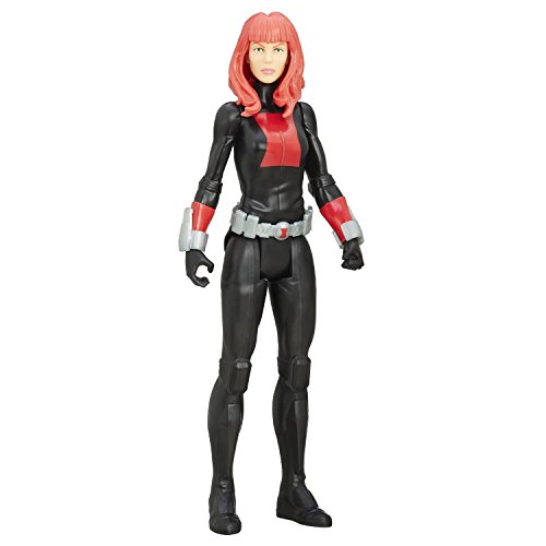 Super Hero Titan Hero Series Black Widow 12-inch Hero Series Action Figures Toys