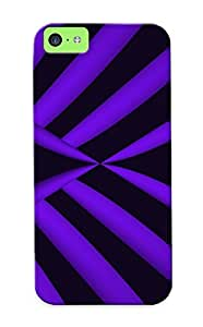 New Cute Funny Purple Wings Case Cover/ Iphone 5c Case Cover For Lovers