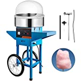 VBENLEM Cotton Candy Machine Commercial with Bubble Cover Shield and...