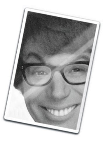 MIKE MYERS - Original Art Fridge Magnet #js001