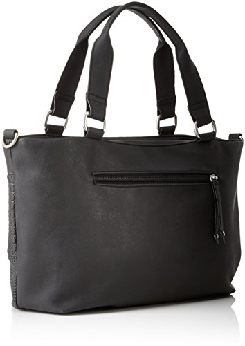 s.Oliver (Bags) 39.711.94.5806 - Borse a tracolla Donna, Schwarz (Black/schwarz), 3x27.5x42 cm (B x H T)