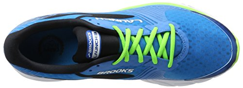 Brooks Launch 3 M, Scarpe da Corsa Uomo Turchese (Methyl Blue/Green Gecko/Black)