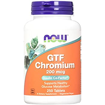 NOW GTF Chromium 200 mcg,250 Tablets