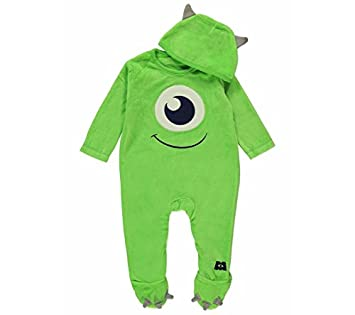 Image Unavailable. Image not available for. Colour  Disney Pixar Monsters  Inc Mike Wazowski Onesie ... 639207e022f6