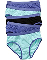 Hanes Girls Underwear Cotton Brief (5 Pack)