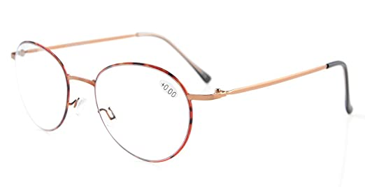 7c6e9a53b2 Amazon.com  Eyekepper Readers Lightweight Oval Retro Reading Glasses  Tortoiseshell +1.25  Health   Personal Care
