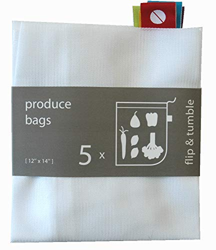 Reusable Produce Bags – Eco Green bags for Fruits and Veggies by flip & tumble (Image #7)