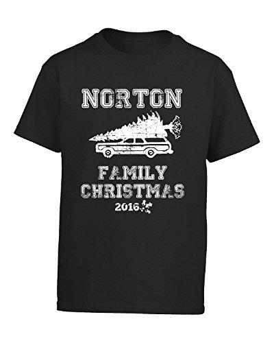 norton-family-christmas-2016-gift-for-the-holidays-kids-t-shirt-kids-s-black