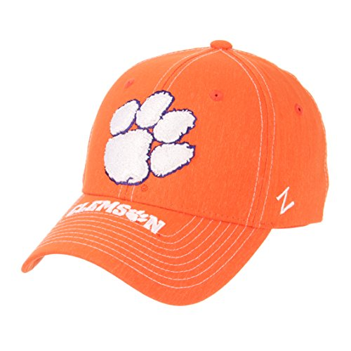 Ncaa Center - NCAA Clemson Tigers Men's Center Court Z-Fit Cap, Medium/Large, Orange