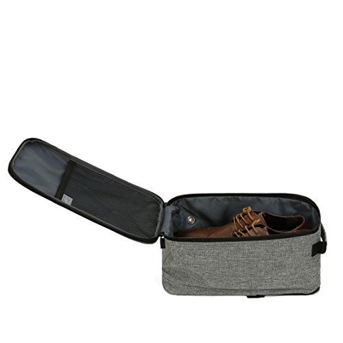 VASCO Shoe Travel Bag – Zipper Bags – Suitable as Shoe Gym Bag – For Men & Women - Gray by Vasco (Image #4)