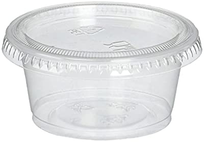 Plastic Disposable Portion Cups with lids
