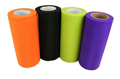 HALLOWEEN Set of 4 Rolls 6