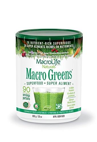 Macro Life Naturals - Macro Greens Superfood Powder