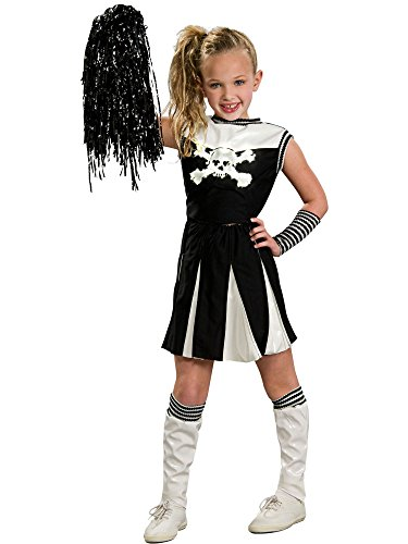 Girl's Bad Spirit Goth Cheerleader (Goth Cheerleader Costume)