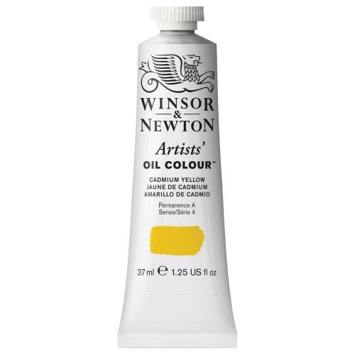 Winsor & Newton Artists' Oil Colour Paint, 37ml Tube, Cadmium Yellow