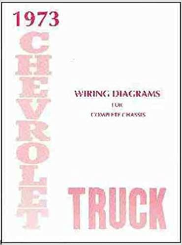1973 chevrolet truck, blazer, suburban & pickup complete 8 page set of  factory electrical wiring diagrams & schematics guide covers stake, panel,  van,