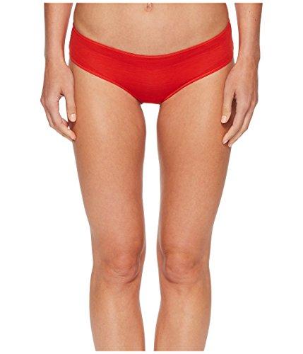 HANRO Women's Ultralight Hi Cut Brief, Orange/Red, X-Small
