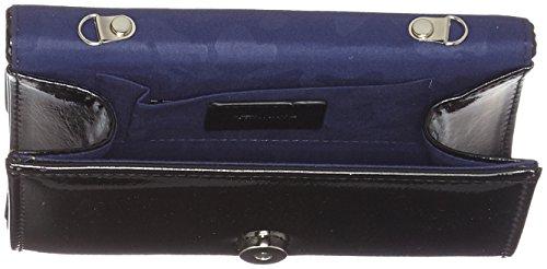 Tamaris Iva Clutch Bag - Pochette da giorno Donna, Schwarz (Black), 6x10x19 cm (B x H T)