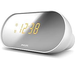 Philips AJ2000/12 Clock Radio with Dual Alarms