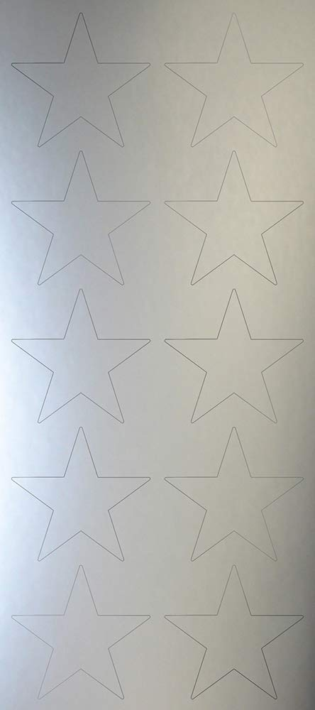 15 count 8.5 x 11 Great Papers 2019012 Silver Star Foil Certificates