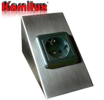 Unterbausteckdose 230V Steckdosenleiste Kuchensteckdose Unterbau