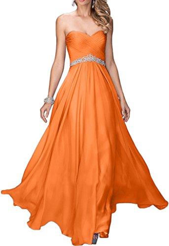 Promgirl House - Robe - Trapèze - Femme -  orange - 50