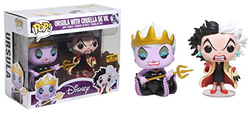 Funko POP! Ursula with Cruella De Vil -