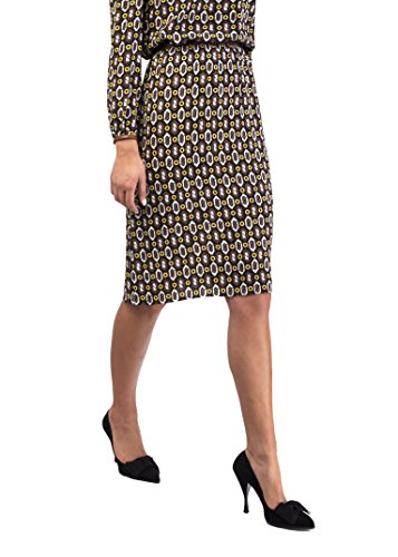 Prada Women's Viscose Geometric Print Skirt - For Clothing Prada Women
