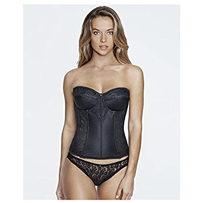 Dominique Satin and Lace Torsolette