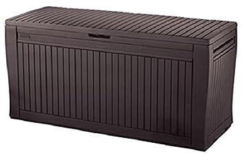 Keter Comfy Coffre De Rangement Extérieur 270 L De 117 X 9 X 53