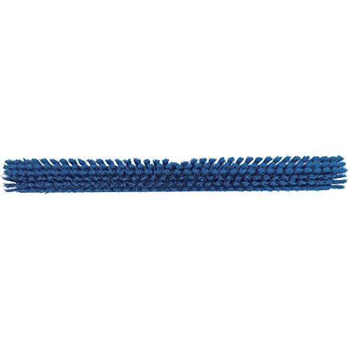Vikan 31943 Coarse/Fine Sweep Floor Broom Head, Polyester Bristle, Polypropylene Block, 23-1/2'', Blue by Vikan (Image #1)