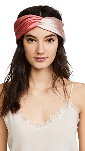 Eugenia Kim Women's Malia Headband, Blush/Coral, One Size by Eugenia Kim