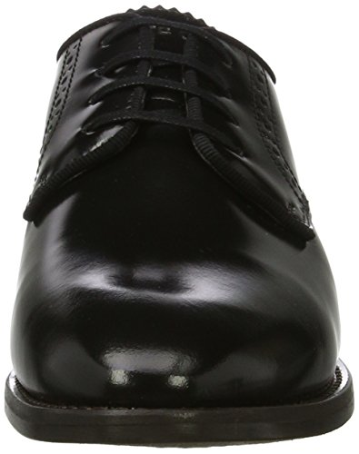 Schwarz Mujer Marc 70714153401112 Shoe Up Lace O'Polo Black Brogue vBwaU1q
