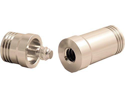 Pro Series JPA-10 Threaded Aluminum Joint Protectors, Psycho Silver, 3/8 x 10