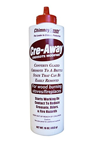 ChimneySaver Cre-Away Creosote Modifier (16 Oz Squeeze Bottle)
