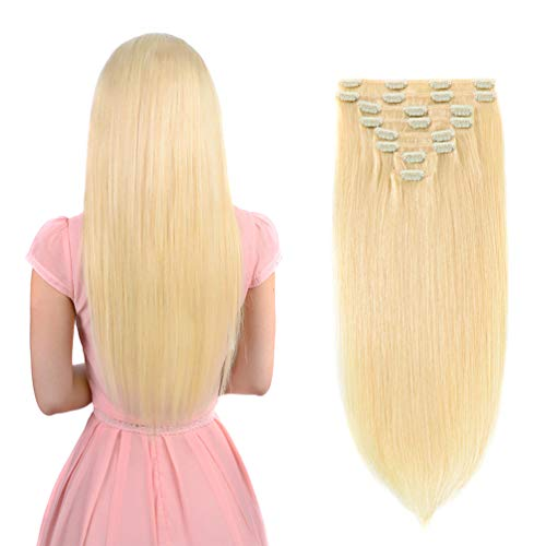 Extensions Human Blonde Women Beauty product image