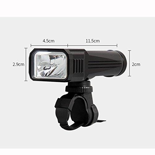 kasien Bicycle Waterproof LED Front Handlebar Lamp, 1000LM Brightness,T6 Bulb,German standard by kasien (Image #2)