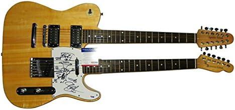Slash autografiado, firmado doble cuello Telecaster guitarra PSA ...
