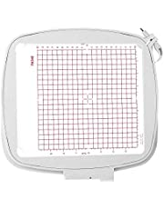 Sew Tech Embroidery Hoop for Husqvarna Viking Designer Diamond Deluxe Royale, RUBY Royal DeLuxe, TOPAZ 50 30 20, hoop for Pfaff Creative Sensation Pro etc. Embroidery Machine, 8x8 (200x200 mm) Quilter's Hoop