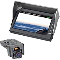 MJX D43 5.8GHz FPV Monitor with C5830 720P HD WiFi Camera 4.3 inch LCD Display Dual Wireless Receiver FPV Kit.
