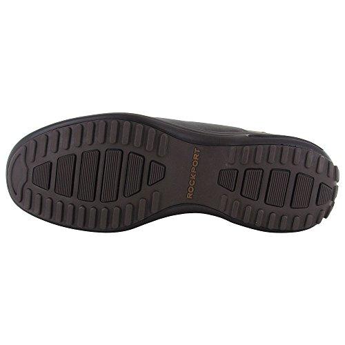 Rockport Mens City Routes Blucher Oxford Chaussures Caramel / Cuir Chocolat Noir