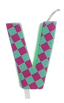YesBox Tarta de cumpleaños Velas/Velas: Letras, números y ...