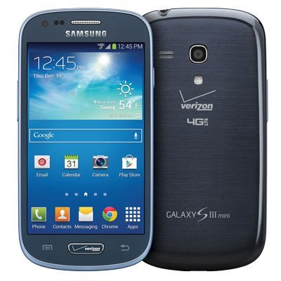 Samsung Galaxy S3 Mini G730 8GB 4G LTE Verizon CDMA Android Phone - Blue