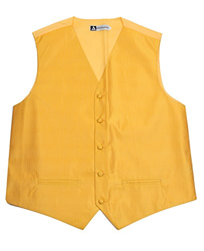 Antonio Ricci Mens Solid Color Tuxedo (Vest Color)