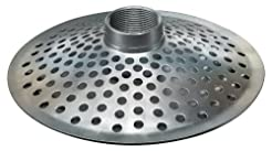 Kuriyama THS300 Top Hole Steel Strainer/...