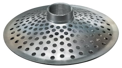 Kuriyama THS200 Top Hole Steel Strainer/Skimmer, 2""