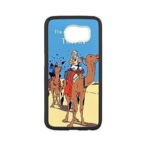 TinTin cartoon Samsung Galaxy S6 Cell Phone Case White SP1296532