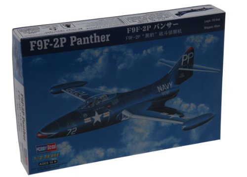 Hobby Boss F9F-2P Panther Airplane Model Building Kit